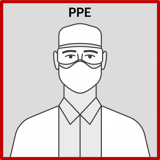 Personal Protective Equipment (PPE) has always been utilised by staff at EDG. Additional precautions such as the use of face shields and a screen guard at reception will help protect against COVID-19.