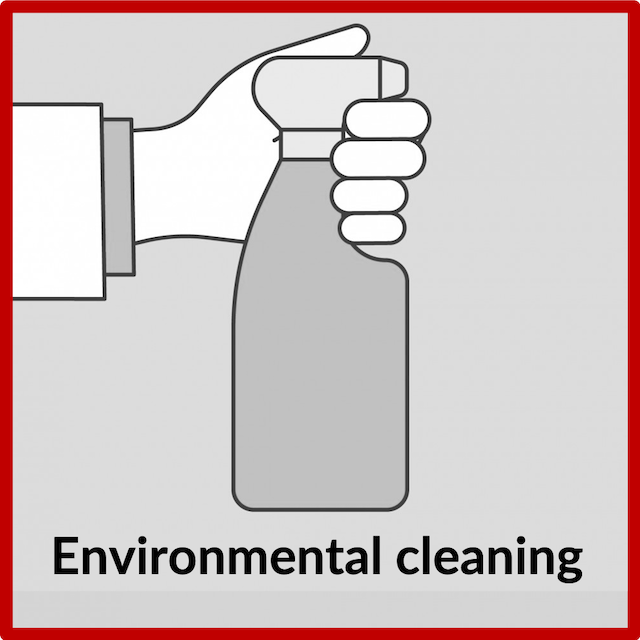 In addition to our strict daily and weekly cleaning schedules, EDG have increased environmental cleaning of high traffic areas. This means surfaces such as door handles, waiting room areas and surgeries are thoroughly cleaned between each patient.